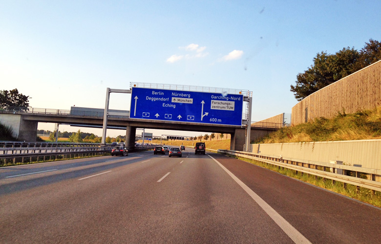 Ab in den Norden über die Nürnberger Autobahn