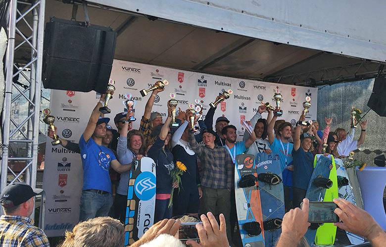 Alle Gewinner der Kitesuf Masters in St Peter Ording 2017
