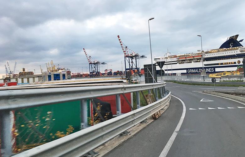 Auf nach Hause - Livorno Hafen