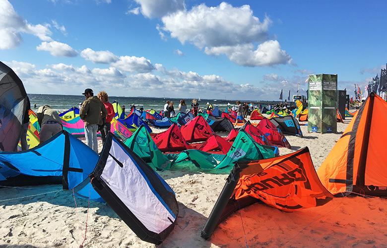 Bereit für Strapless Freestyle beim Kitesurfworldcup auf Fehmarn