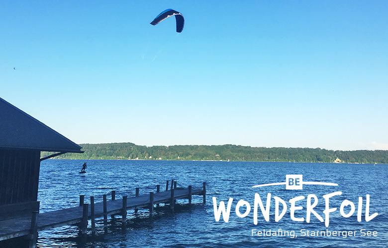 Be Wonderfoil Anfang Mai in Feldafing am Starnberger See