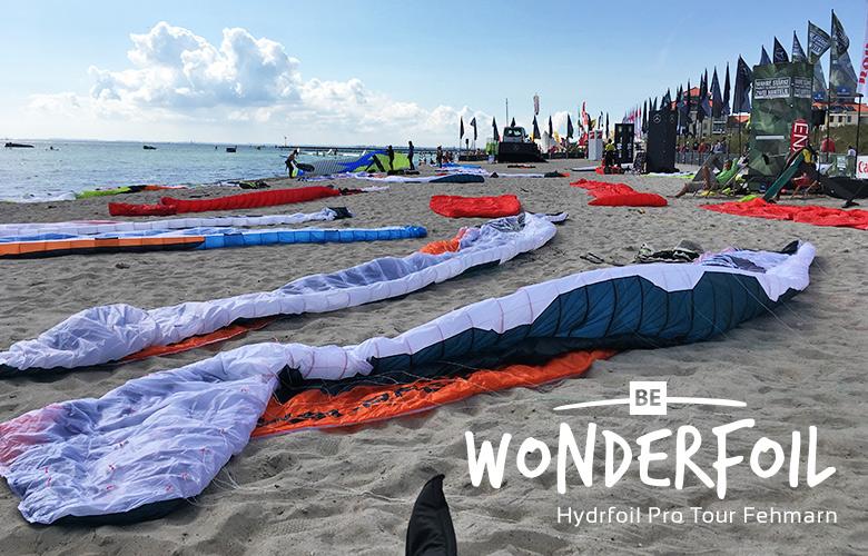 Be Wonderfoil bei der Hydrofoil Pro Tour auf Fehmarn - Kitesurfworldcup