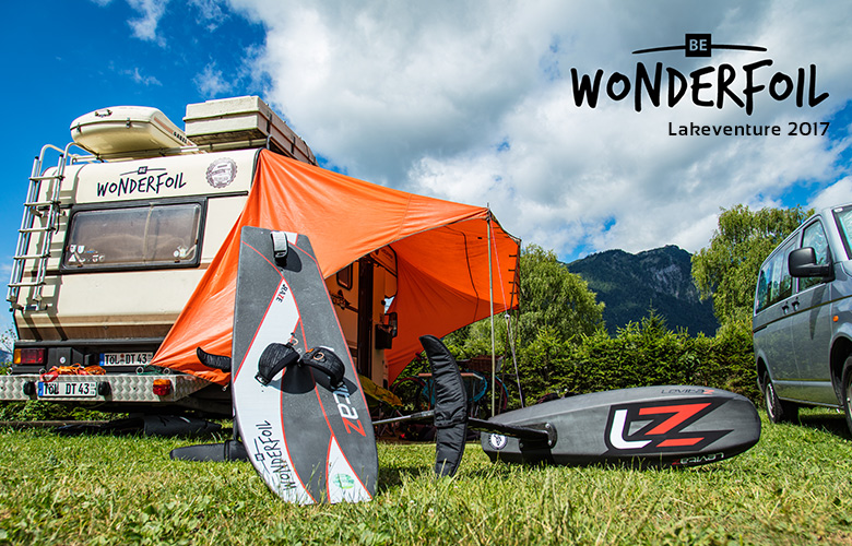 Be Wonderfoil beim Lakeventure 2017 am Traunsee in Oberösterreich