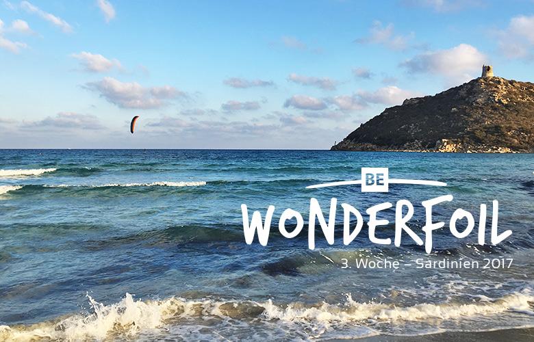 Be Wonderfoil auf Sardinien - unsere 3. Woche