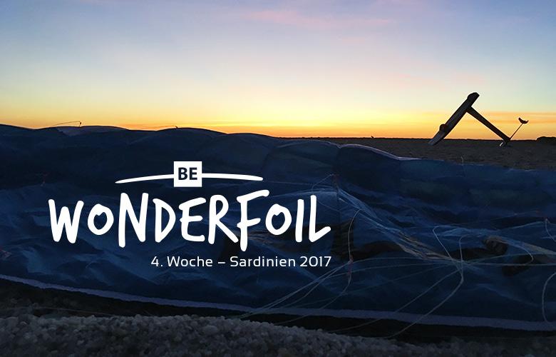 Be Wonderfoil auf Sardinien - 4. Woche im Oktober