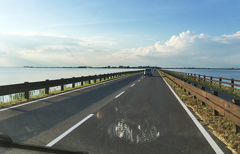 Die Straße nach Grado, Italien