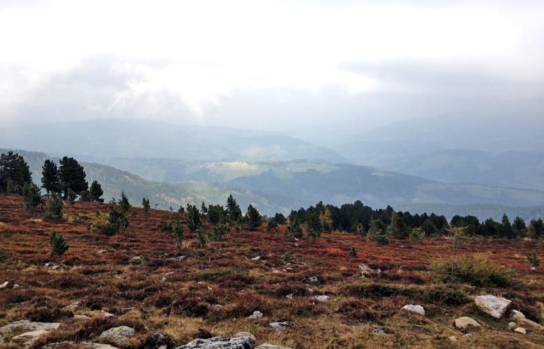 Doch ein blick ins Tal – Etappe 17 Panoramaweg Südalpen