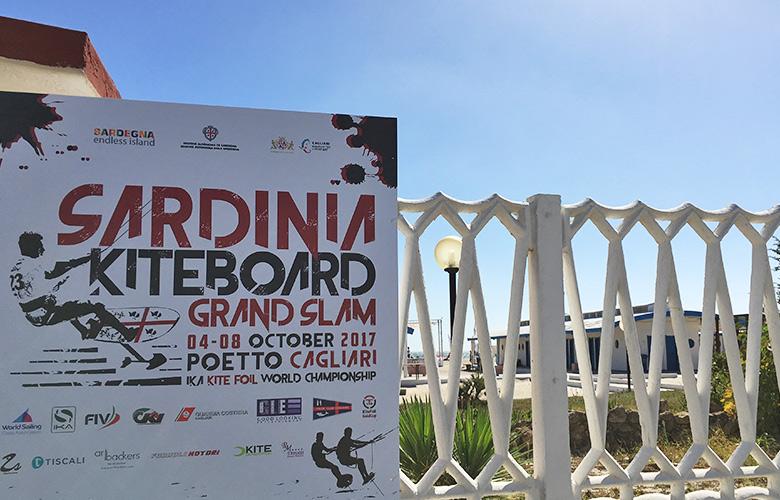 Sardinia Kiteboard Grand Slam in Cagliari Sardinien