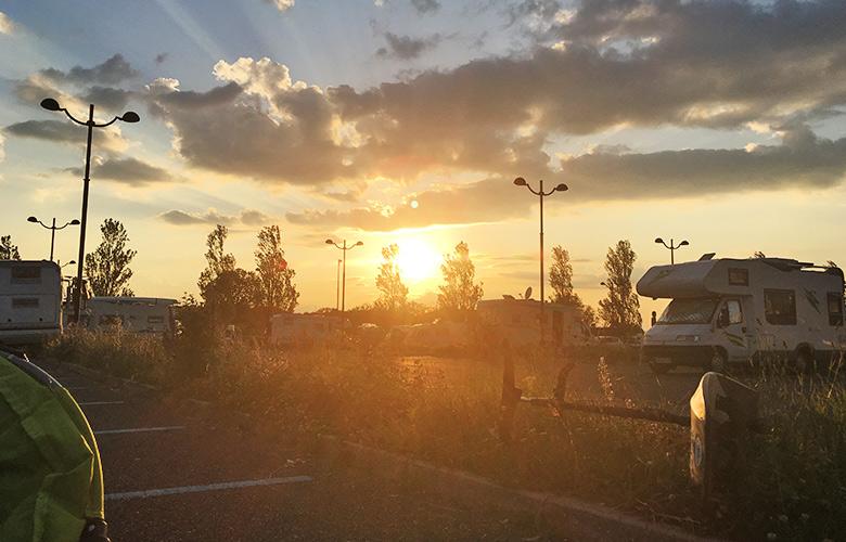 Erfolgreicher Kitefoiling Tag, Sandinsel, Grado, Italien