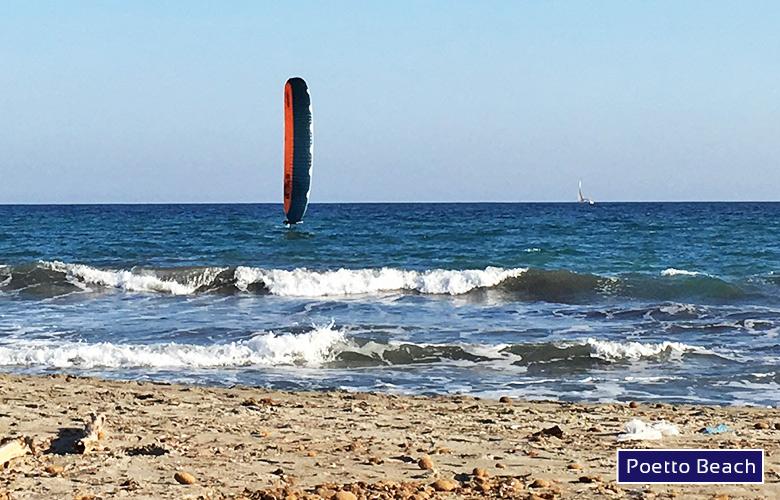 Foitraining am Poetto Beach auf Sardinien