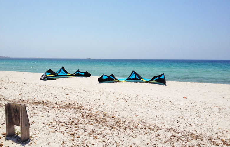 Kitetraining auf Sardinien für den VKWC in St Peter Ording