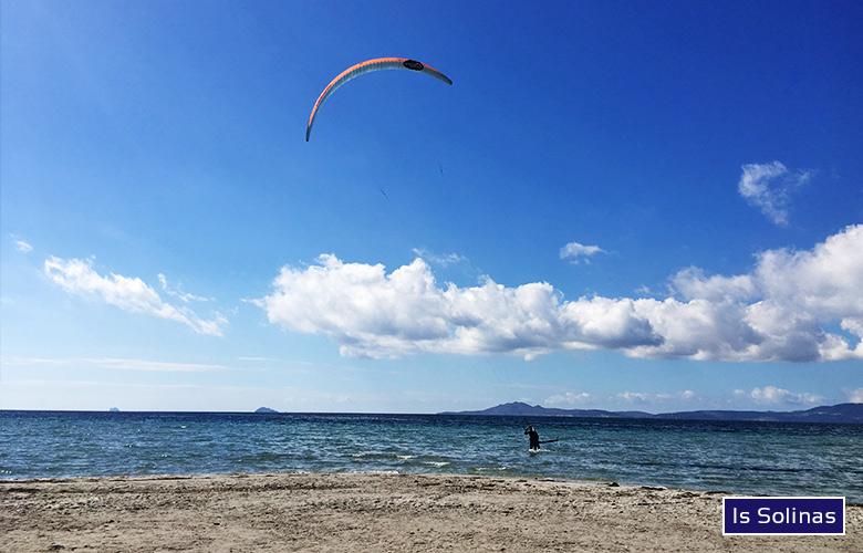 Leichtwindsession, Is Solinas, Sardinien