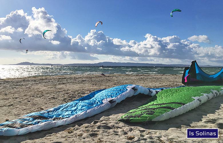 Kitespot Is Solinas Foil- und Kitesession