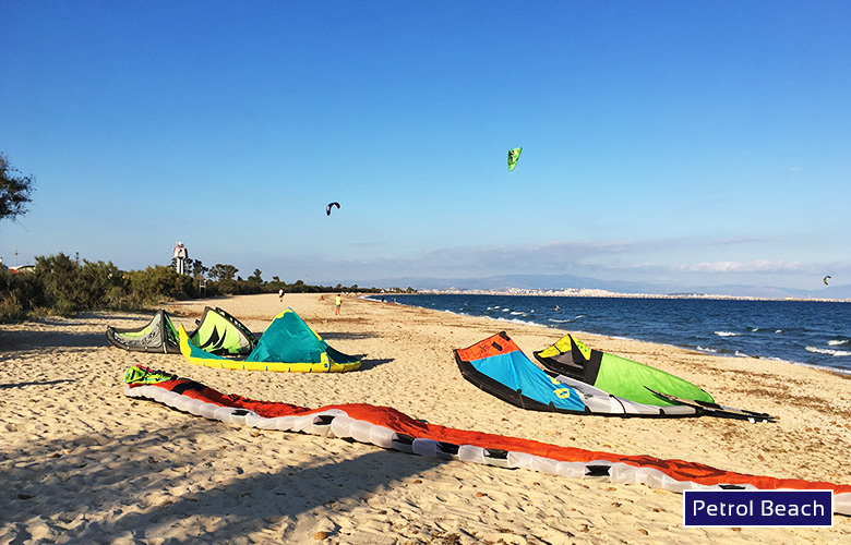 Kitespot La Maddalena, Petrol Beach, Sardinien