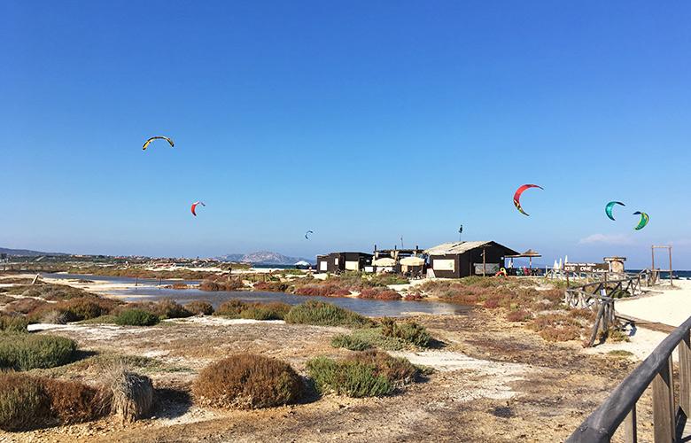 Kitespot Stintino auf Sardinien