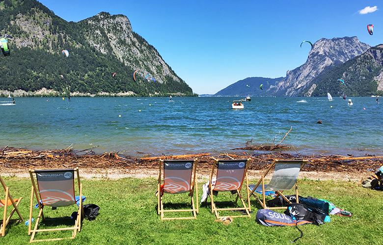 Das Lakeventure 1. Juli 2018 am Traunsee, Österreich
