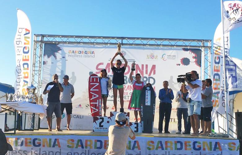 Siegerehrung, Frauenpodium - Sardinia Kiteboard Grand Slam