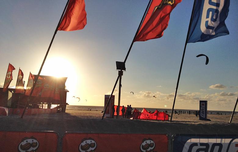 Sonnenuntergang – Kitesurworldcup St Peter Ording 2015