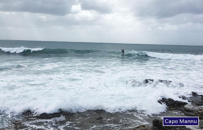 Der Surfspot von Capo Mannu auf Sardinien