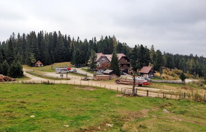 Die Waldheimhütte – Etappe 17 Panoramaweg Südalpen