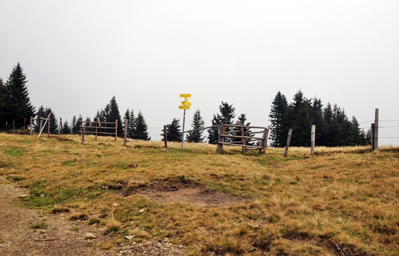 Weggabelung – Etappe 16 Panoramaweg Südalpen