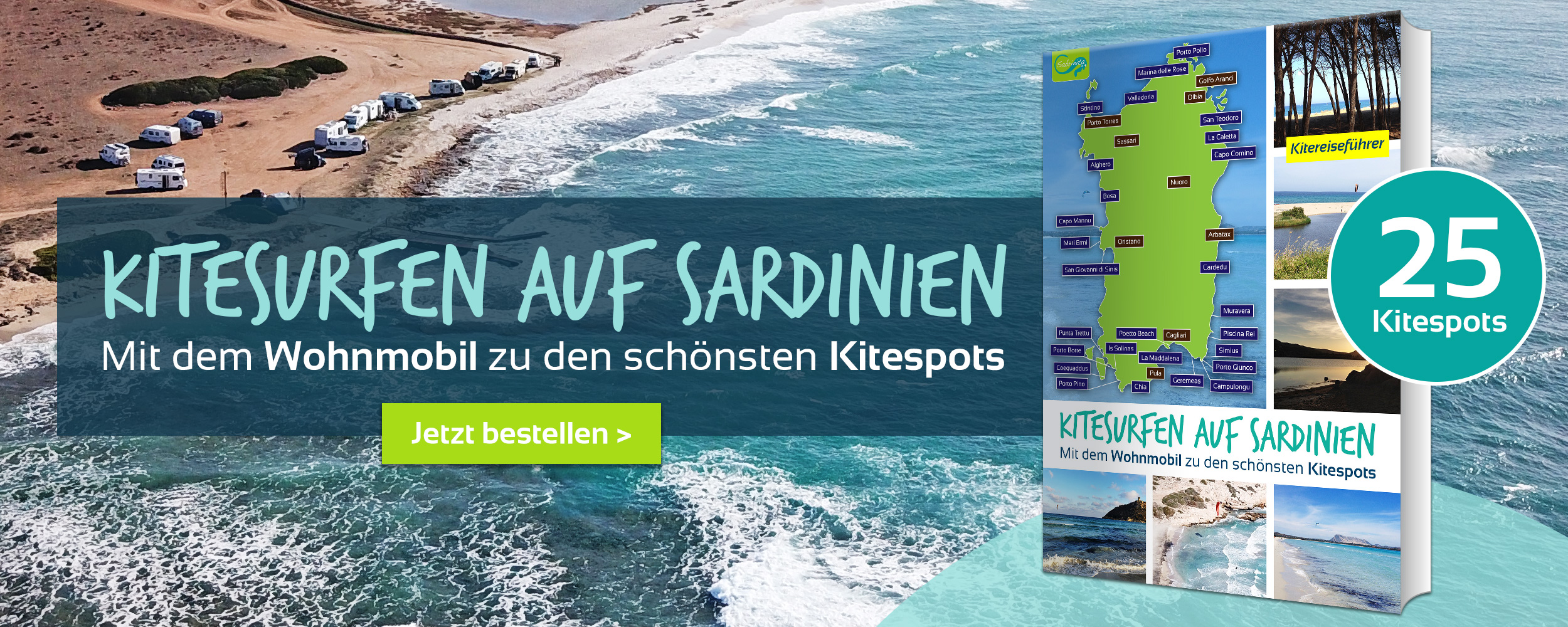 Kitesurfen auf Sardinien - Kitereiseguide