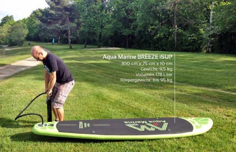 Aqua Marine Breeze iSUP Testbericht 2016