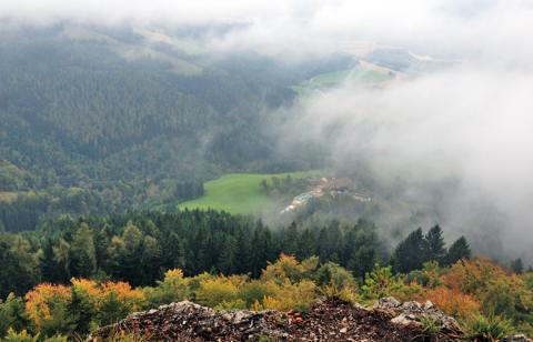 Ausblick vom Kasperstein – Etappe 12 und 13 Alternativtour Panoramaweg Südalpen