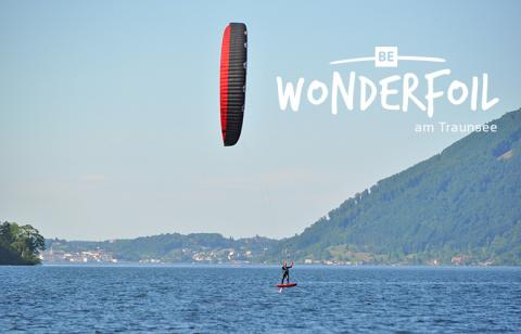 Be Wonderfoil am Traunsee in Ebensee