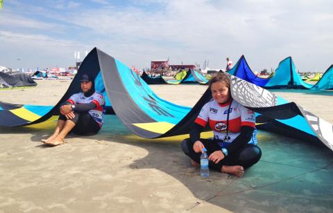 Beim warten am Strand – Kitesurfworldcup St Peter Ording