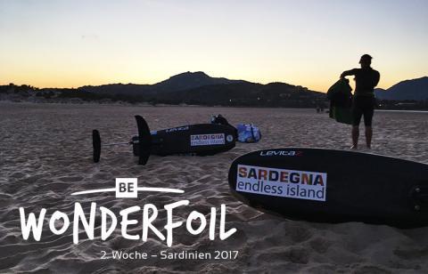 Be Wonderfoil auf Sardinien, die zweite Woche