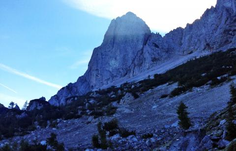 Der Koschutnikturm – 5. Etappe Panoramaweg Südalpen