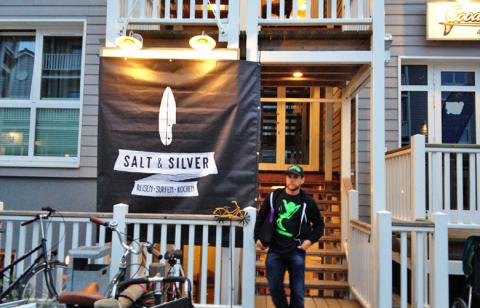 Gleich gehts los, Buchvorstellung von Salt und Silver in St Peter Ording