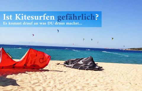 Ist Kitesurfen gefährlich? Es kommt auf dich an