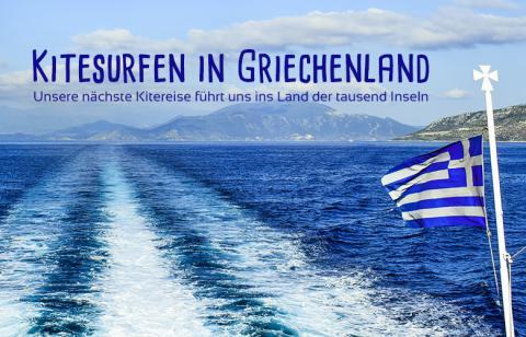 Kitetrip nach Griechenland – Mit dem Camper zu den schönsten Kite- und Foilspots