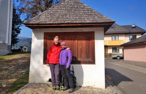Panoramaweg Südalpen geschafft – Abstieg Obdach Finale Panoramaweg Südalpen