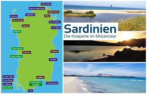 Sardinien – Die Kiteperle im Mittelmeer, eine Zusammenfassung